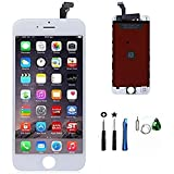 LCD Touch Screen Replacement Digitizer Full Set with Repair Tools Kit For iPhone 6 - White