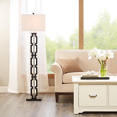 Lamp Floor Shade Acrylic (MADISON PARK SIGNATURE Moderne Floor Lamp Black See Below)