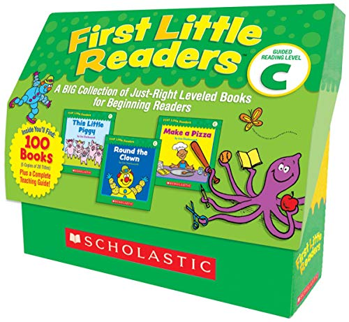 (First Little Readers: Guided Reading Level C: A BIG Collection of Just-Right Leveled Books for Beginning Readers)