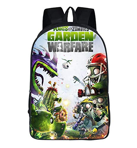 Unisex Pupils Cartoon Students Schoolbag Backpack (Color B) (Plant Vs Zombies Garden Warfare Pc Release Date)