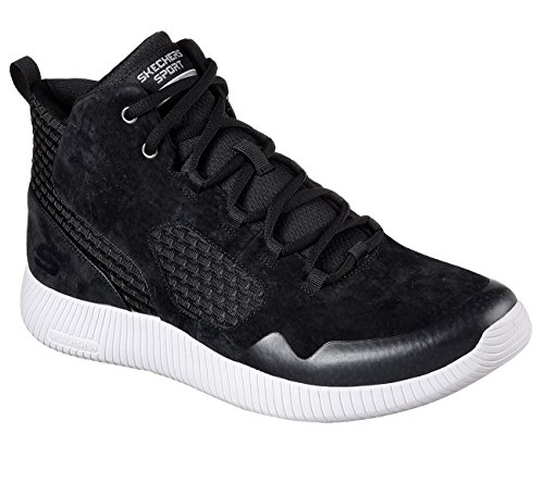 Skechers Depth Charge Drango Heren Hoge Top Sneakers Zwart