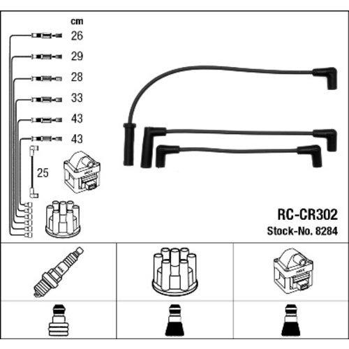 NGK 8284 Juego de cables de encendido