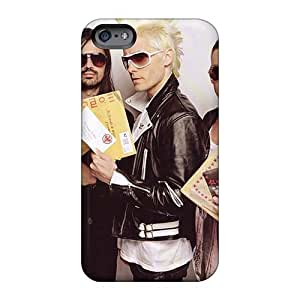 Iphone 6plus Iti14039PJyS Custom Realistic 30 Seconds To Mars Band 3STM Image Scratch Resistant Hard Phone Case -JasonPelletier