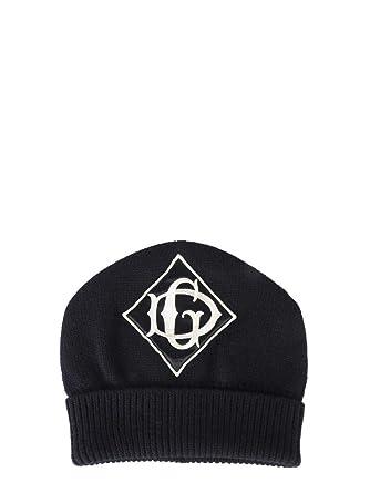 Dolce E Gabbana GX689ZJAVSBN0000 - Sombrero de Lana para Hombre ...