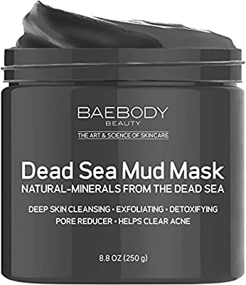 Dead Sea Mud Mask Best for Facial Treatment, Acne, Oily Skin & Blackheads - Minimizes Pores, Reduces Wrinkles, and Improves Overall Complexion. Natural-Minerals From The Dead Sea 8.8 oz