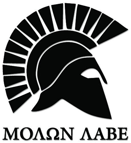 Amazon Molon Labe Spartan Greek Warrior Vinyl Decal Sticker For