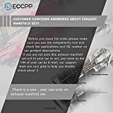 ECCPP Automotive Replacement Exhaust Manifolds