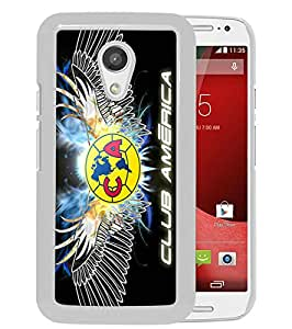Popular Design Motorola Moto G 2nd Generation Case Club America 3 White Best New Design Motorola Moto G 2nd Generation Cover Case