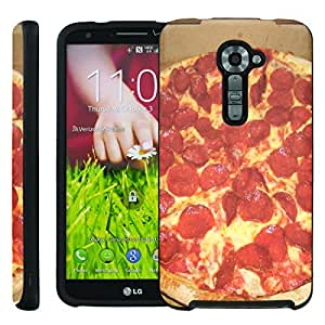 [ManiaGear] Design Graphic Image Shell Cover Hard Case (Eat Pizza) for LG G2 VS980 Verizon