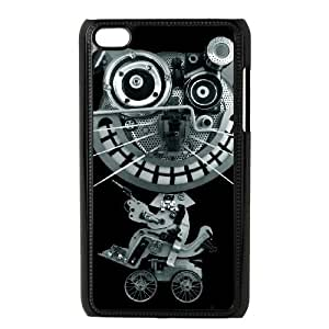 iPod Touch 4 Case Black ROBOCAT ISU436035