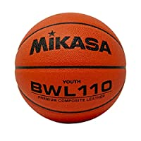 "Mikasa Composite Competition Basketball (Junior Size 5, 27"")"