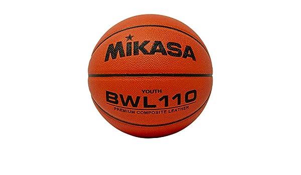 Mikasa bwl110 competencia baloncesto - BWLC110, Size 6, Anaranjado ...