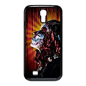 Cool PaintingFashion Cell phone case Of Artistic Skull Bumper Plastic Hard Case For Samsung Galaxy S4 i9500