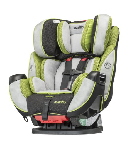 - Evenflo Symphony Convertible Car Seat, Porter
