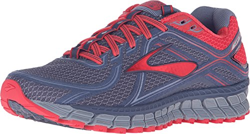 Brooks Women's Adrenaline ASR 13 Crown Blue/Teaberry/Stonewash Sneaker 5 B (M)