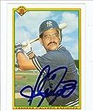 Autograph Warehouse 41531 Alvaro Espinoza Autographed Baseball Card New York Yankees 1990 Bowman No. 431