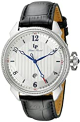 Lucien Piccard Watches Trevi Leather Band Watch