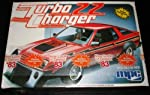 MPC 1-0836 1983 Dodge Turbo Charger 2.2 1.25 Scale Plastic Model Kit from Ertl
