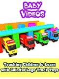 Teaching Children to Learn with Colorful Lego Truck Toys