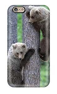 ZippyDoritEduard Shockproof Scratcheproof Bear Cubs Tree Climbing Hard Case Cover For Iphone 6