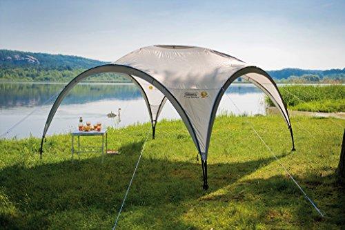51VZ1vdCUAL Coleman Pavillon Event Shelter 3m x 3m, grau/grün, M, 2000019505