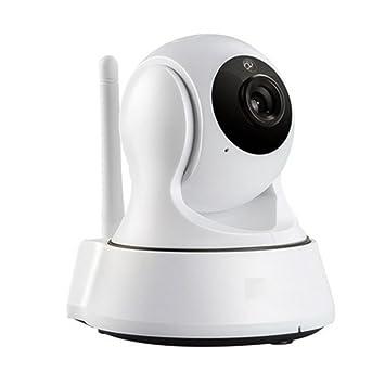 wly&home Cámara de Vigilancia Wireless IP Cámara HD/Visión Nocturna, Detección de Movimiento Inteligente