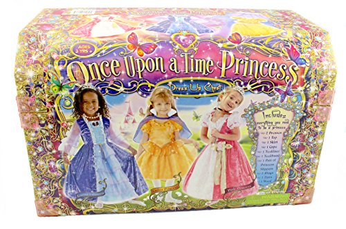 Teetot Once Upon a Time Princess Dress-up Chest 15 Pc