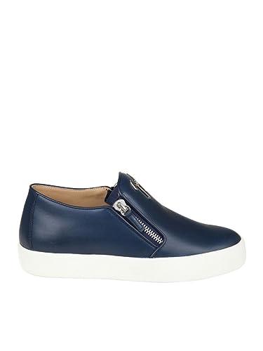De Homme Chaussures Giuseppe Zanotti Cuir Ru7005003 Bleu Design nZ0AHw4qxT