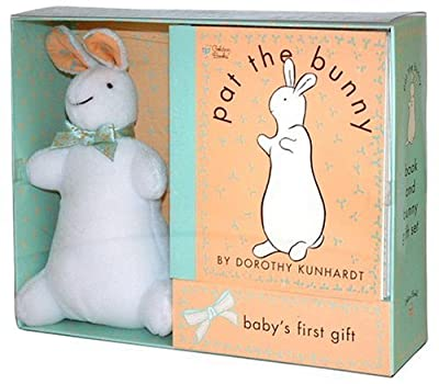Pat The Bunny Book Plush Touch-and-feel from Golden Books