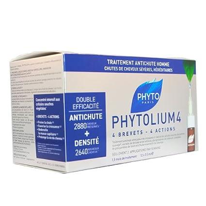 Phytolium 4 Ampolas para Queda de Homem 3,5 ml x 12