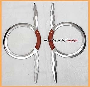 Wushu Double Snake Rings Double Snake Ring Swords