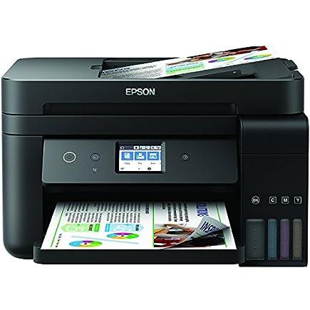 Epson EcoTank ET-4750 A4 Print/Scan/Copy/Fax Wi-Fi Printer, Black