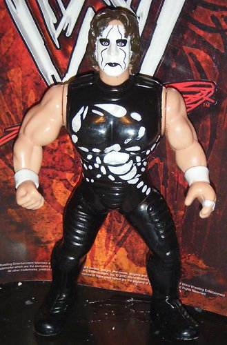 WCW Sting Wrestling Action Figure WWF WWE by WWE