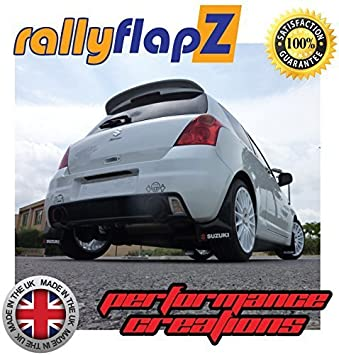 Genuine rallyflapZ (Made in the UK) Full Set of 4 Mudflaps Including all  Fixings/Hardware Required & Full Fitting Instructions! (Mud Guard/Mud Flaps
