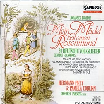 Brahms: German Folksongs Deutsche Volkslieder
