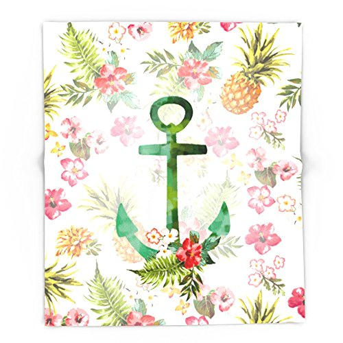 Society6 Hawaii Anchor 88'' x 104'' Blanket by Society6