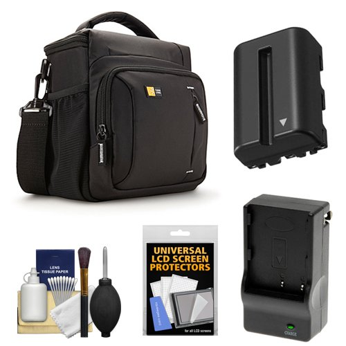 Case Logic Slrc 205 Digital Camera Slr Sling Bag Black - 6