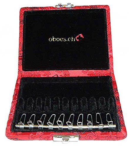 10-Reed English Horn Reed Case with Clips