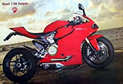 7143-M Ducati Big Bike Motorcycle Collection Wall Decoration Poster Size 35x23.5