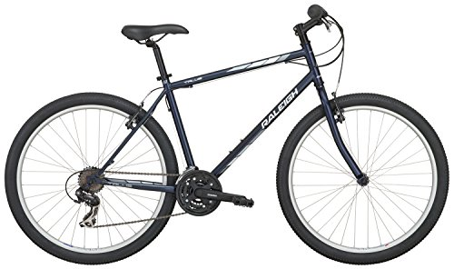 "Raleigh Bikes Raleigh Talus 1 Recreational Mountain Bike, 21""/X-Large, Navy Blue"