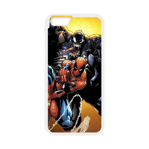 Pictures Of Spiderman 011 coque iPhone 6 4.7 Inch Housse Blanc téléphone portable couverture de cas coque EEEXLKNBC18665