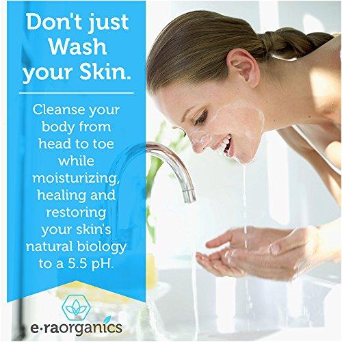 Era-Organics-Natural-Face-Wash-8oz-Moisturizing-Facial-Cleanser-with-Organic-Aloe-Vera-Manuka-Honey-for-Dry-Oily-Damaged-Sensitive-Skin-Ph-Balanced-Sulfate-Free