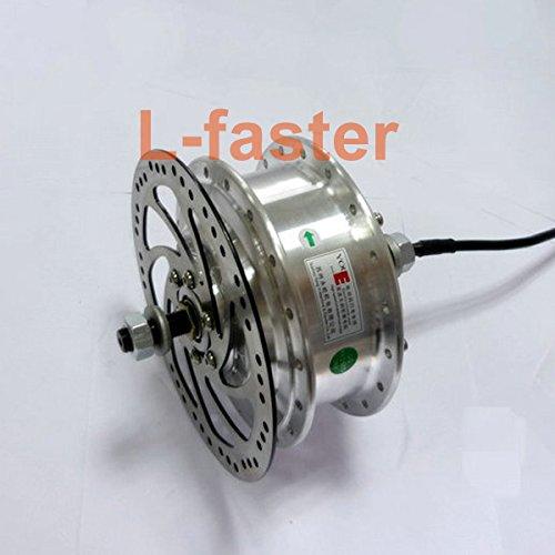 24ボルト36ボルト48ボルト250ワット電動自転車ブラシレスモーターyoueハブモーター用電動自転車フロントホイールモータことでリアブレーキディスクローター [並行輸入品] B0798Q7RBK 24V250W QB02