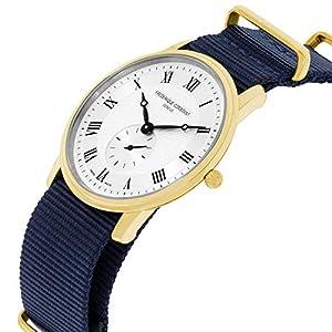 Frederique Constant Slimline Gold FC235M4S5GRYOR - Reloj de Pulsera para Hombre, 2 Correas adicionales 2