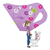 Lady's AID Disposable Female Urination Device, 6 Pack