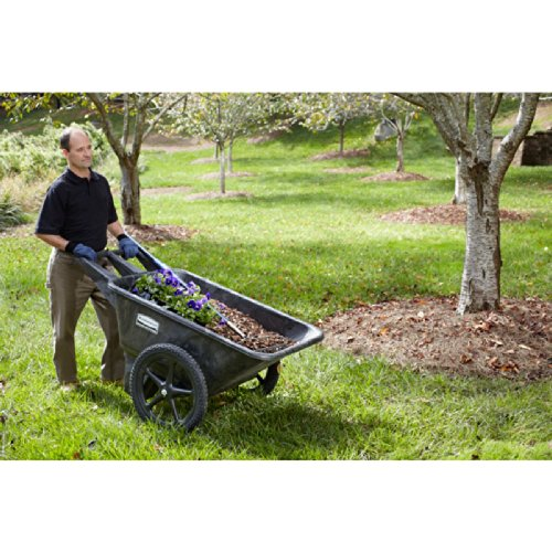 Rubbermaid Commercial Products Fg564200bla Plastic Yard