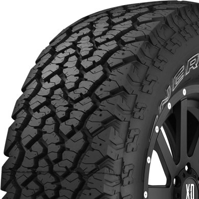 UPC 051342080328, 255/70-16 General Grabber AT2 All Terrain Tire 640AB 111S 2557016
