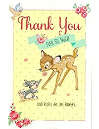 Carlton Disney's 'Thank You Ever So Much' - Bambi and Thumper Thank You Card - 419050 BOBEBE Online Baby Store From New York to Miami and Los Angeles