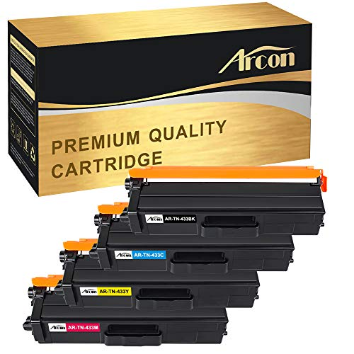 Arcon TN-433 High Yield Toner Cartridge Compatible for Broth