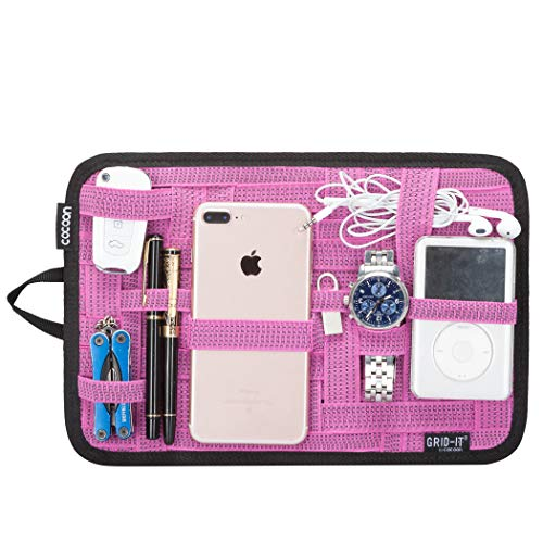 Cocoon CPG10PK GRID-IT! Accessory Organizer - Medium 12 x 8 (Pink)